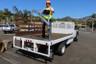 Platform Truck Crane Worker