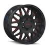 Mayhem Gloss Black and Red Tripwire Wheels 01