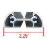Aluminum Extruded Cross Bar 2.25inx 1in