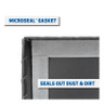 Full Perimeter MicroSeal Gasket