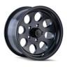 Ion Matte Black 171 Wheels