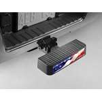 BumpStep USA Hitch Mounted Bumper Protection w/Flag by Weathertech