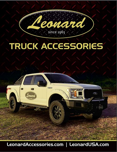 Leonard Catalog Cover