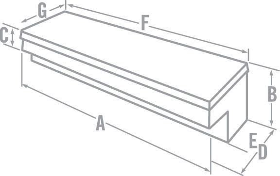 How to measure a low side tool box