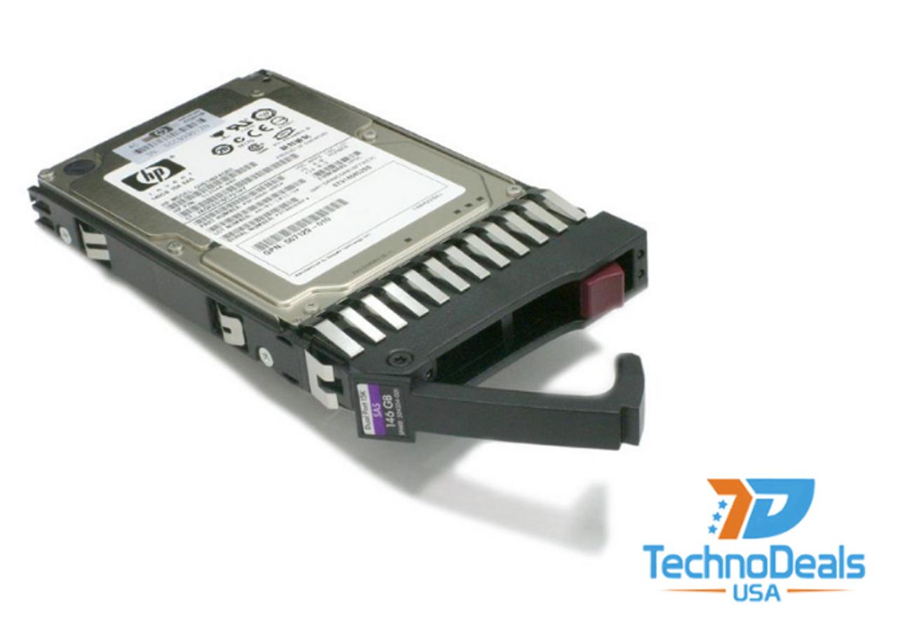 "HP 384854-B21 488058-001 146GB 15K 3.5/"" DP SAS DRIVE"