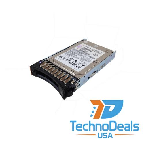 IBM 300GB Serial Attached SCSI (SAS) 2.5-inch SFF 6G 10K Slim-Hot-Swap SED Hard Drive 42D0651
