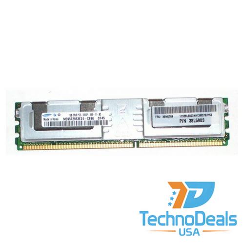 IBM 2GB (2 X 1GB) PC2-5300 CL5 ECC DDR2 39M5784