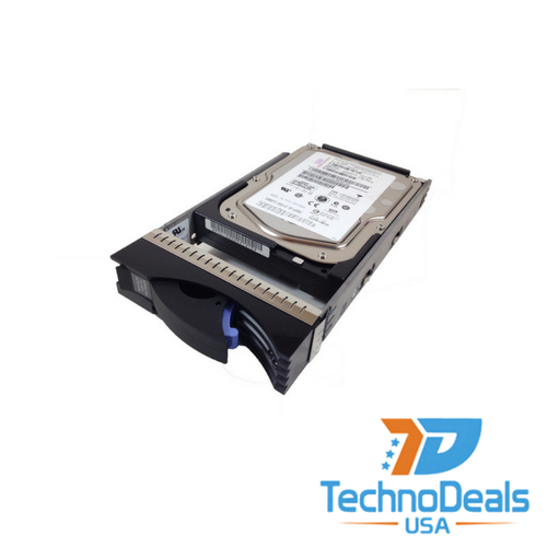 IBM 146GB 15K RPM 3.5-inch Hot-Plug 4Gbps Fibre Channel Hard Drive  23R1776