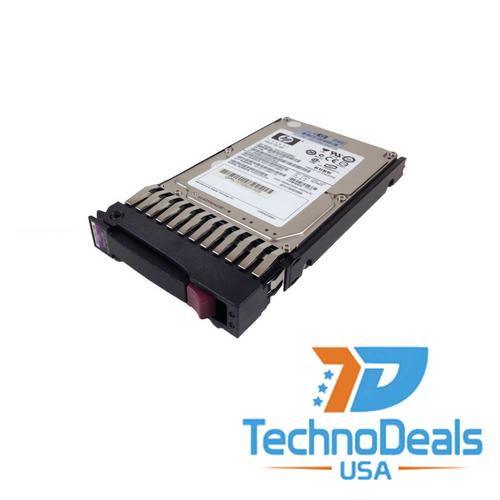 HP  146 GB 15000 RPM 2.5 inch Hot Swap SAS-3Gb/s Hard Drive with tray 504064-003