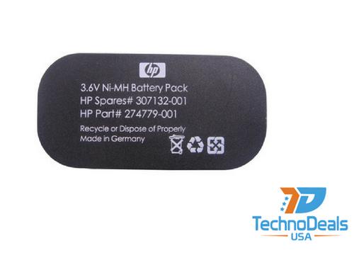 Compaq BATTERY PACK NI-MH 3.6V 500MAH 307132-001