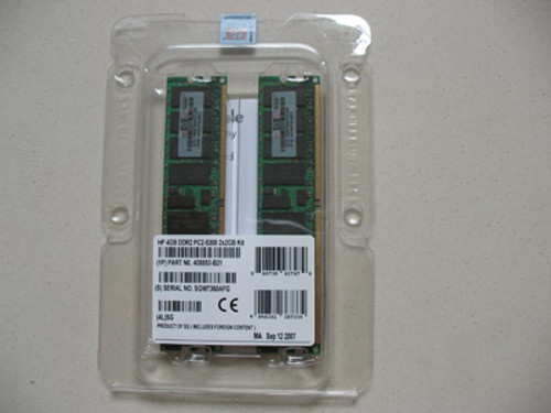 HP 1GB (2 X 512MB) PC2-5300 MEMORY MODULE 397409-B21