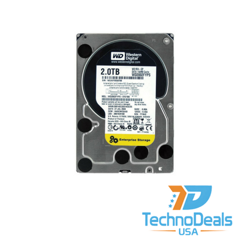 western digital 2tb sata hard drive part number wd2002fyps