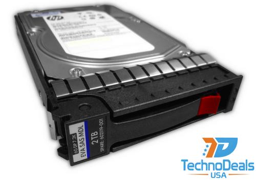 HP AW590A M6612 2TB 6G SAS 7.2K 3.5IN Hard Drive