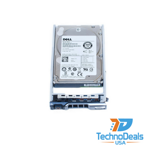 DELL 300GB 10K 6G SFF SAS HARD DRIVE ST300MM0006