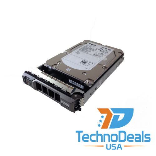 dell 600gb 15k 3.5' 6 gb/s hot plug sas hard drive   HUS156060VLS600