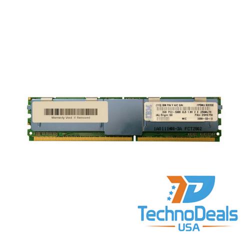 IBM 4GB (2X2GB) 2RX4 PC2-5300F MEMORY 39M5790