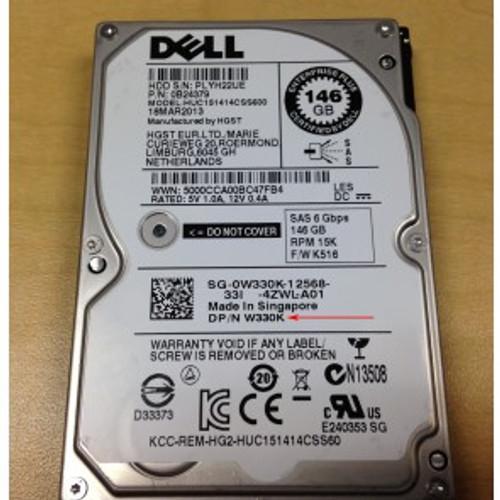 DELL 146GB 15K LFF SAS HARD DRIVE GX198