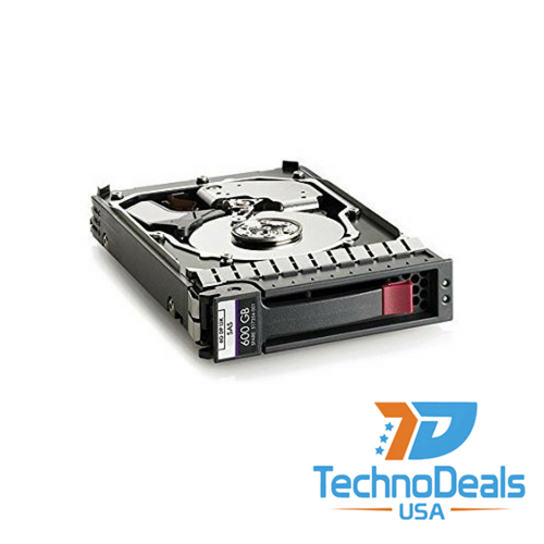 HP 600GB 15000 RPM 3.5 inch SAS-6Gb/s Hard Drive 516828-B21