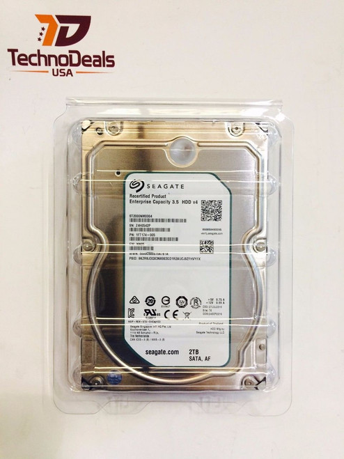 "SEAGATE 2TB ENTERPRISE 3.5"" SATA 7.2K HARD DRIVE ST2000NM0004"