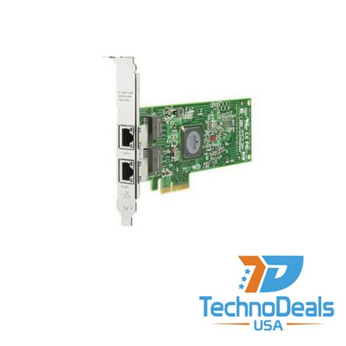 HP NC382T PCI-E DUAL PORT ADAPTER (HIGH BRACKET) 458492-B21