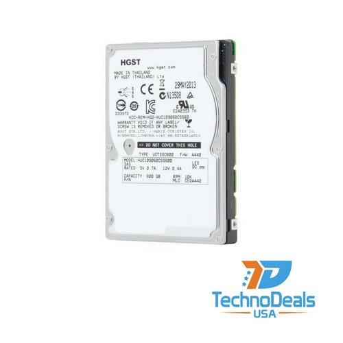 "Hitachi 600GB 10K SAS 2.5"" V7000 HARD DRIVE HUC109060CSS600"