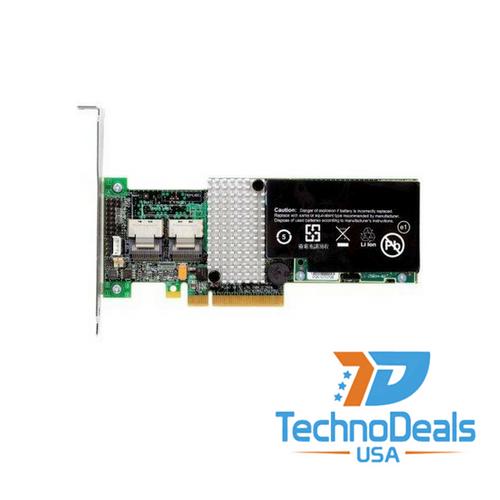 IBM SERVERAID M5015 6GBPS SAS PCIE RAID CONTROLLER W/ 512M BBU 46M0829