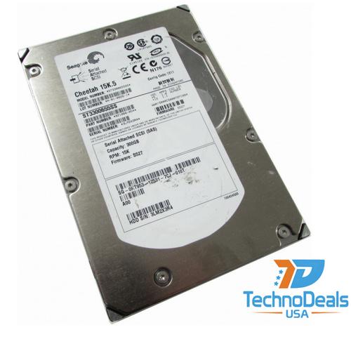 Seagate 300GB 15K 3.5 SAS Hard Drive  -  ST3300655SS