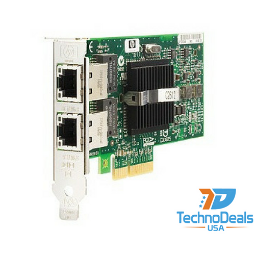 HP NC360T PCIE DUAL PORT SERVER ADPATER (BOTH) 412648-B21