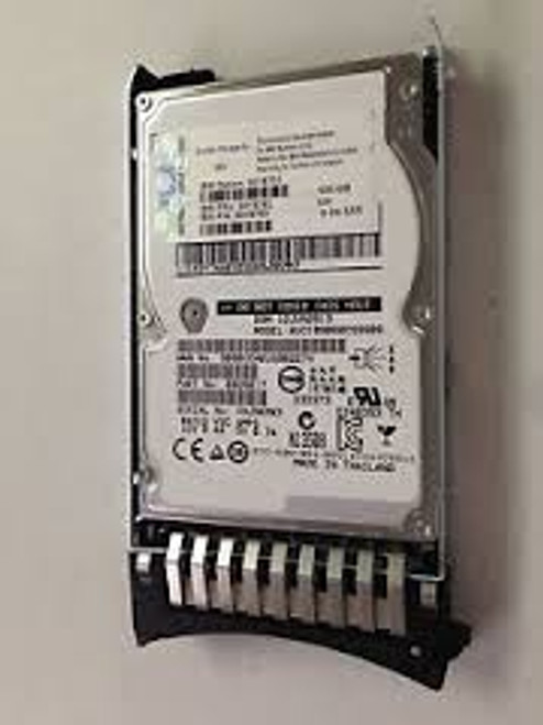 "IBM 600GB 10K RPM SAS 2.5"" HARD DRIVE 90Y8751"