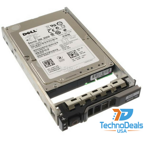 DELL 300GB 10K SAS 2.5 HDD 6GBPS Hard Drive R744K