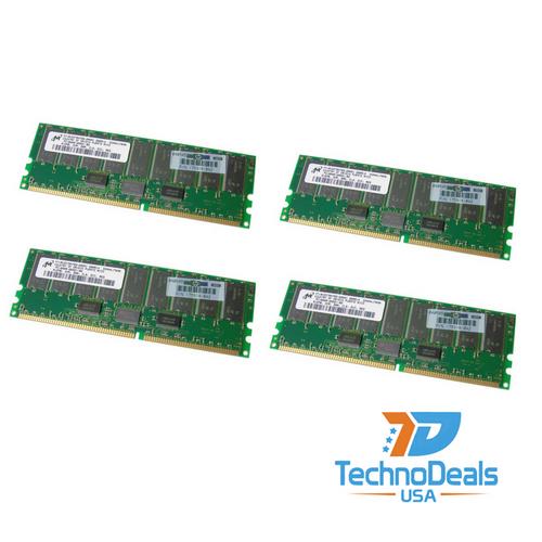 Compaq 2GB 200MHZ DDR PC1600 ECC SDRAM (4X512MB) 202171-B21