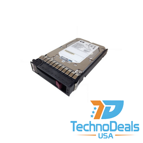 HP 450 GB 15000 RPM 3.5 inch SAS 6Gb/s Hot-Swap Internal Hard Drive 652615-B21