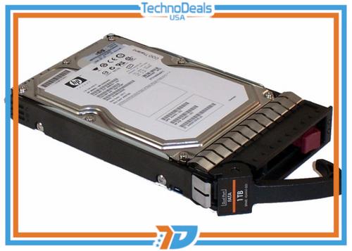 "HP EVA AG691B 1TB Fibre Channel ATA (FATA) Dual-Port 2GB  7.2K 3.5"" Hard Drive"