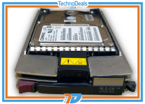 Compaq 142673-B22 18.2GB 10K RPM Wide Ultra 3 SCSI HS Hard Drive