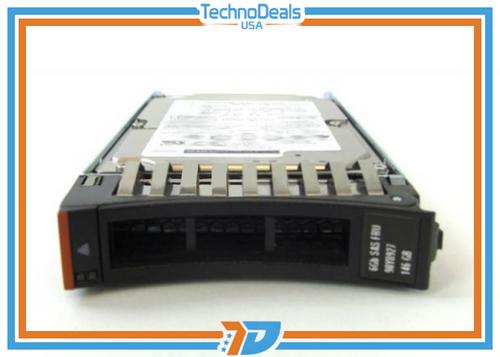 IBM 90Y8930 146GB 15K 6GBPS SAS 2.5 SFF G2 HS Hard Drive