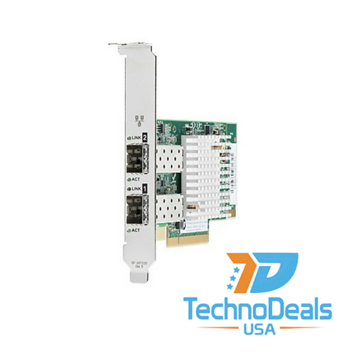 HP 728530-001 Ethernet 10GB 2P 571SFP+ Adapter with Both Brackets