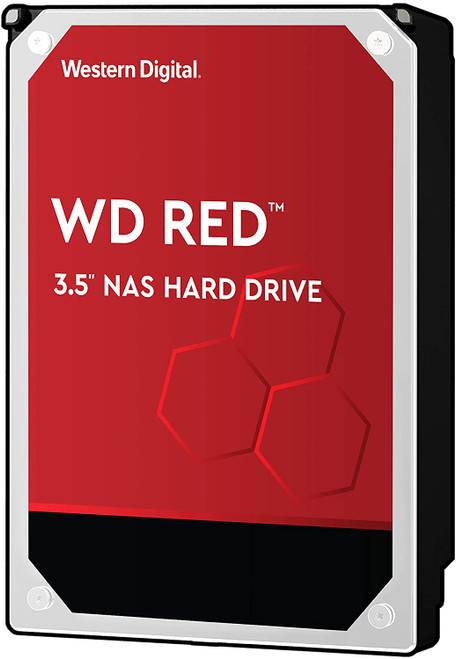 WD Red WD20EFRX 2TB NAS Internal Hard Drive - 5400 RPM Class, SATA 6 Gb/s, CMR, 64 MB Cache, 3.5""