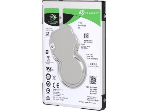 "Seagate ST1000LM048 1TB BarraCuda 5400 RPM 128MB Cache SATA 6.0Gb/s 2.5"" Laptop Internal Hard Drive"