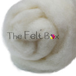 Carded Batts Perendale natural cream