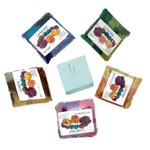 Needle Felting Starter Kit Large: 50 Colours Wool, Needles, Mat