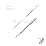 Felting Needle, Structuring Needle, Triangular, Gauge 32 36 40