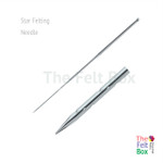 Felting Needle, Structuring Needle, Star, Gauge 38