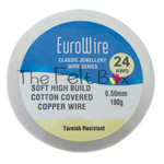 Armature Wire for Needle Felting. Cotton Covered Copper Craft Wire 0.5 mm (10m)
