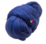 Wool Top, Merino Roving Top 21 mic, Felting and Spinning Fibre, Cornflower