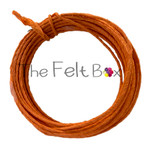 Armature Wire for Needle Felting. Paper Covered Florist  Wire. (Orange/ 7m)
