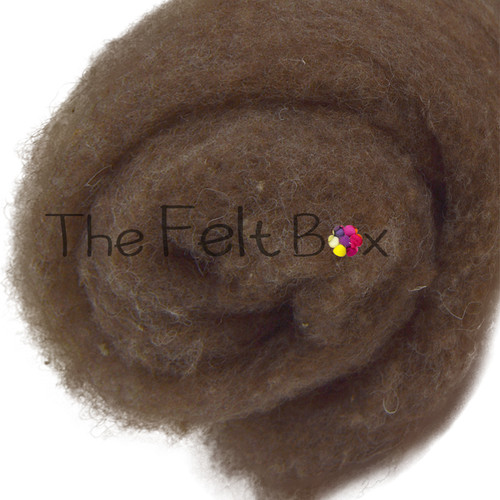 Carded Batts Finnish natural sandy brown