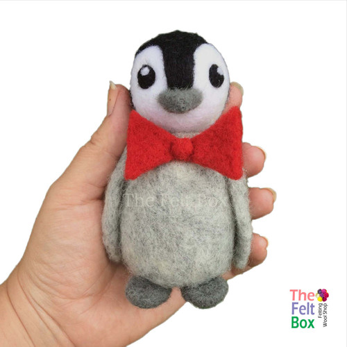 PDF Instructions  Needle Felting  Pip The Penguin