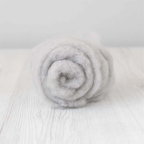 Carded MAORI Wool For Needle Felting, DHG Classic -Cloud 500g
