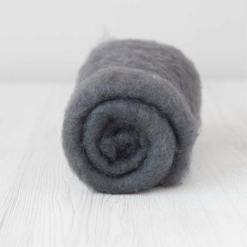 Carded MAORI Wool For Needle Felting, DHG Classic - Storm  500g