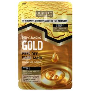 DEEP CLEANSING GOLD PEEL FACIAL PEEL OFF MASK